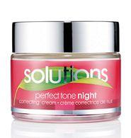 Solutions Perfect Tone Berrak Görünüm Veren Gece Kremi