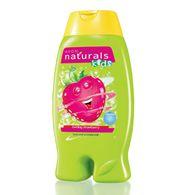 Naturals Kids Çocuklar için Göz Yakmayan Çilek Kokulu Vücut Şampuanı & Banyo Köpüğü