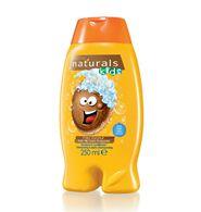 Naturals Kids Çocuklar için Göz Yakmayan Hindistancevizi Kokulu Şampuan & Saç Kremi